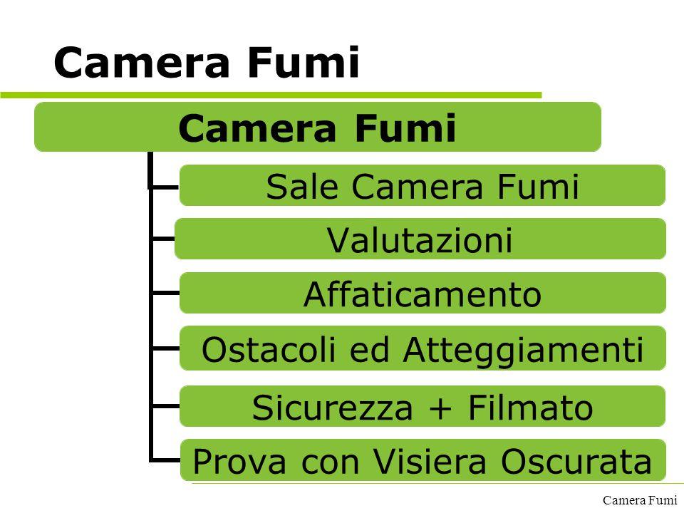 Camera Fumi Camera Fumi A cura del GECAV