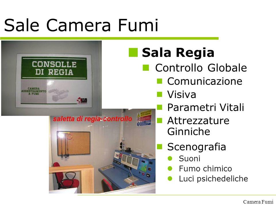 Sale Camera Fumi Sala Regia Controllo Globale Comunicazione Visiva