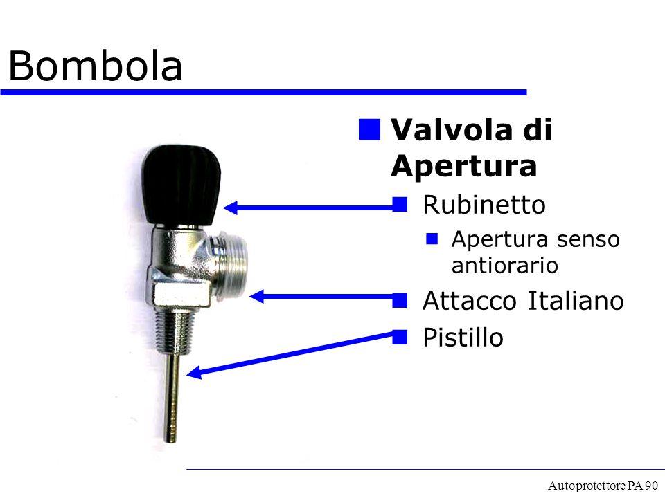 Bombola Valvola di Apertura Rubinetto Attacco Italiano Pistillo