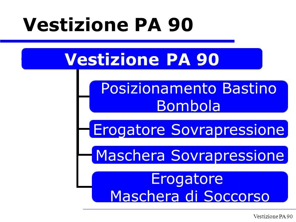 Vestizione PA 90 Vestizione PA 90 A cura del GECAV