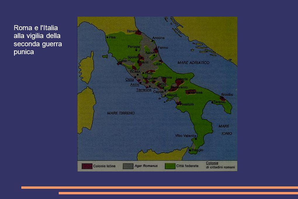 Roma e l Italia alla vigilia della seconda guerra punica