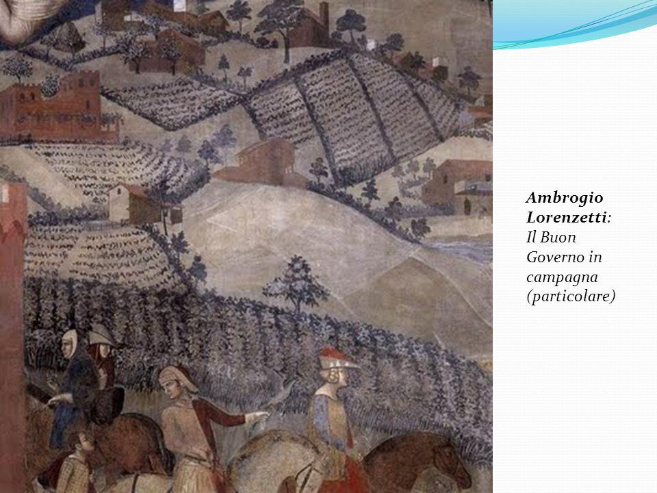 Ambrogio Lorenzetti: Il Buon Governo in campagna (particolare)
