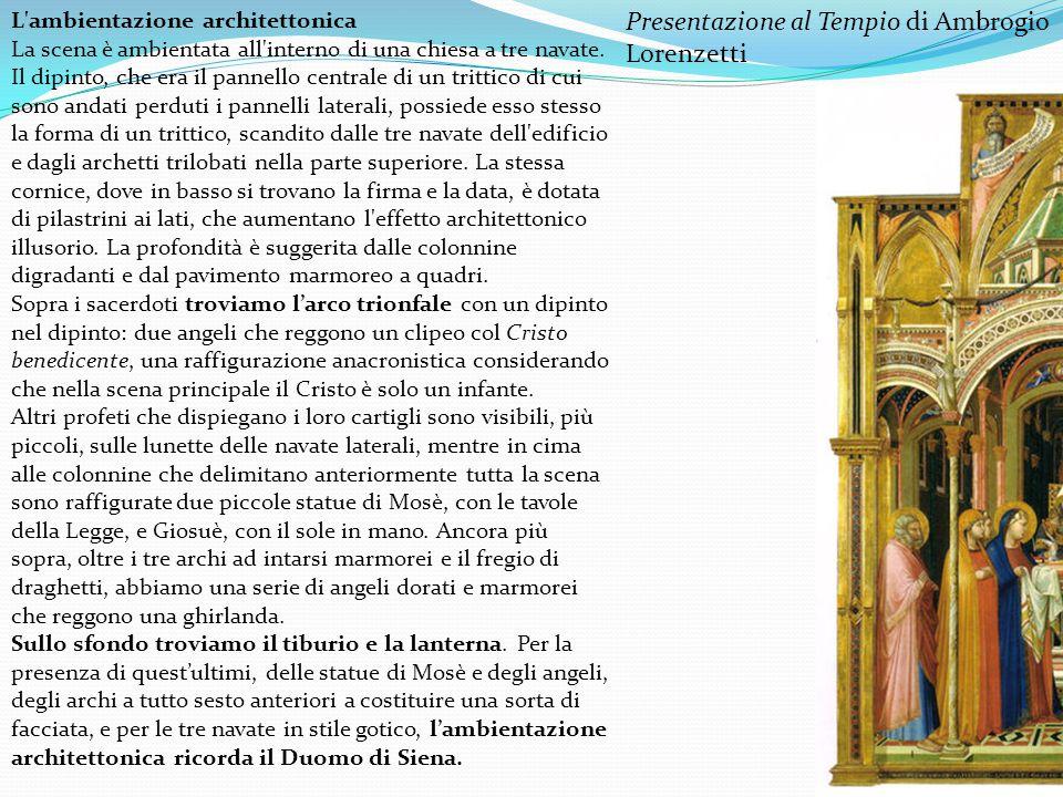 Presentazione al Tempio di Ambrogio Lorenzetti