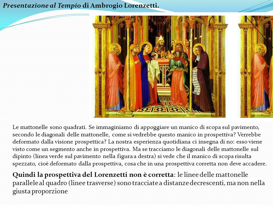 Presentazione al Tempio di Ambrogio Lorenzetti.