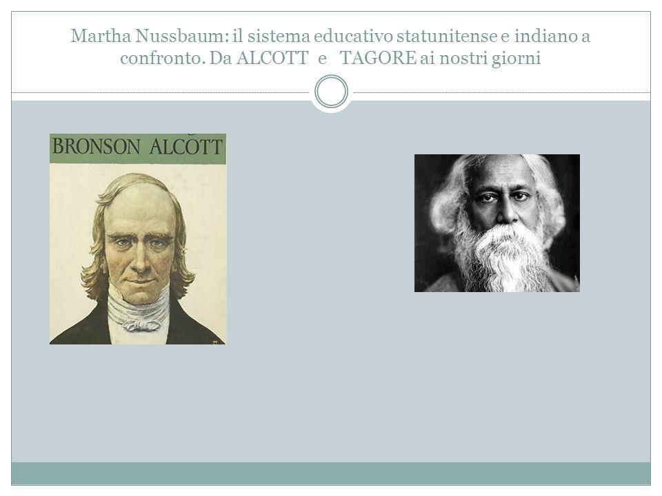 Martha Nussbaum: il sistema educativo statunitense e indiano a confronto.