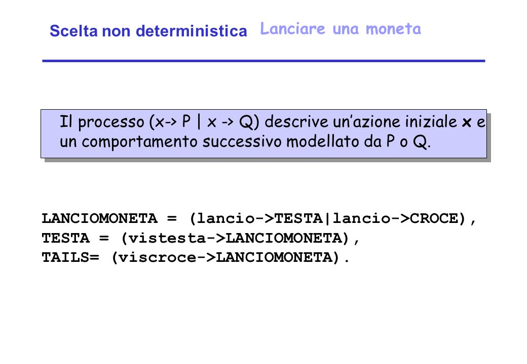 Scelta non deterministica
