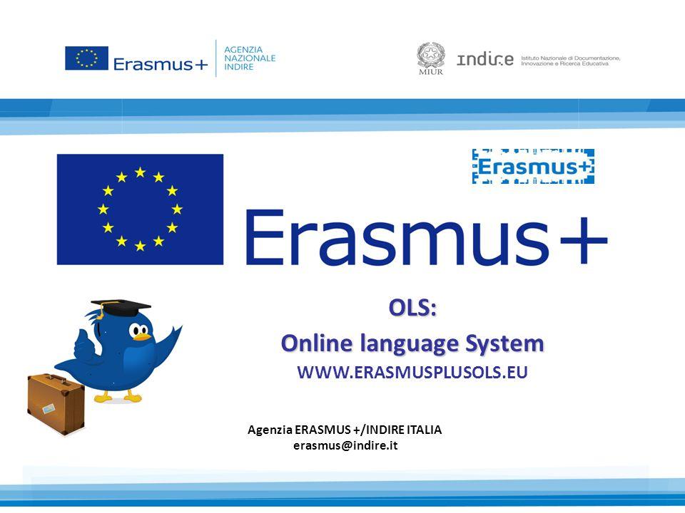 OLS: Online language System WWW.ERASMUSPLUSOLS.EU