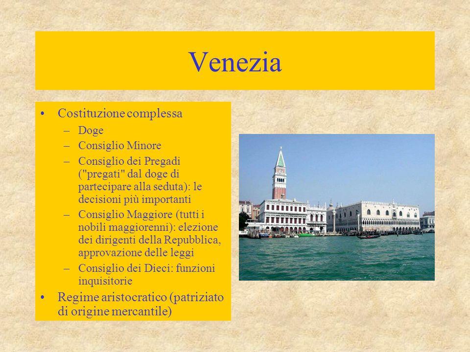 Venezia Costituzione complessa