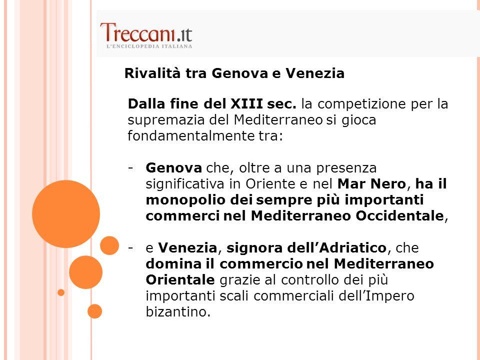 Rivalità tra Genova e Venezia