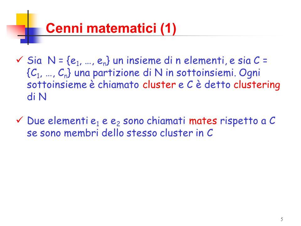 Cenni matematici (1)