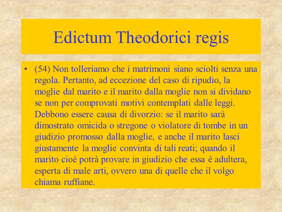 Edictum Theodorici regis