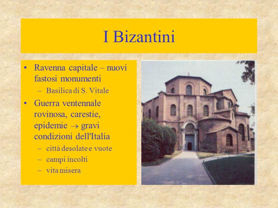 I Bizantini Ravenna capitale – nuovi fastosi monumenti