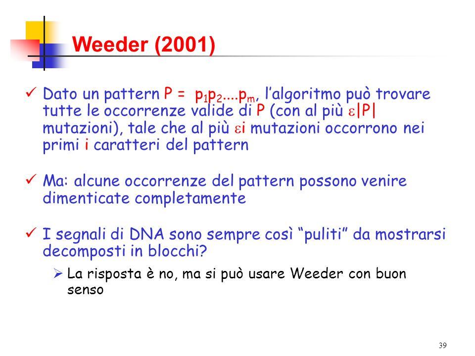 Weeder (2001)