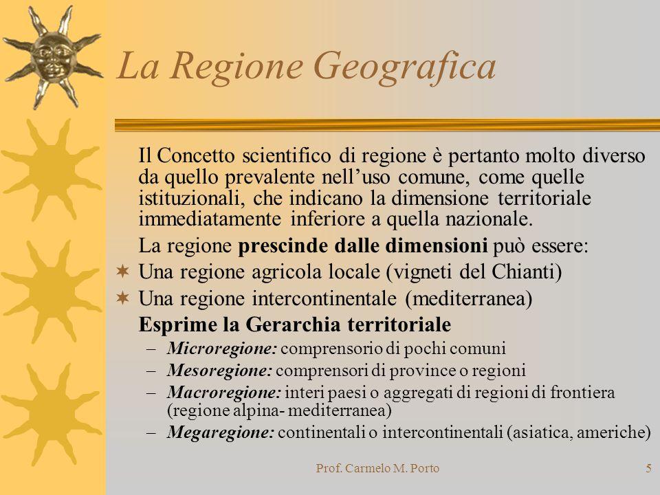 La Regione Geografica