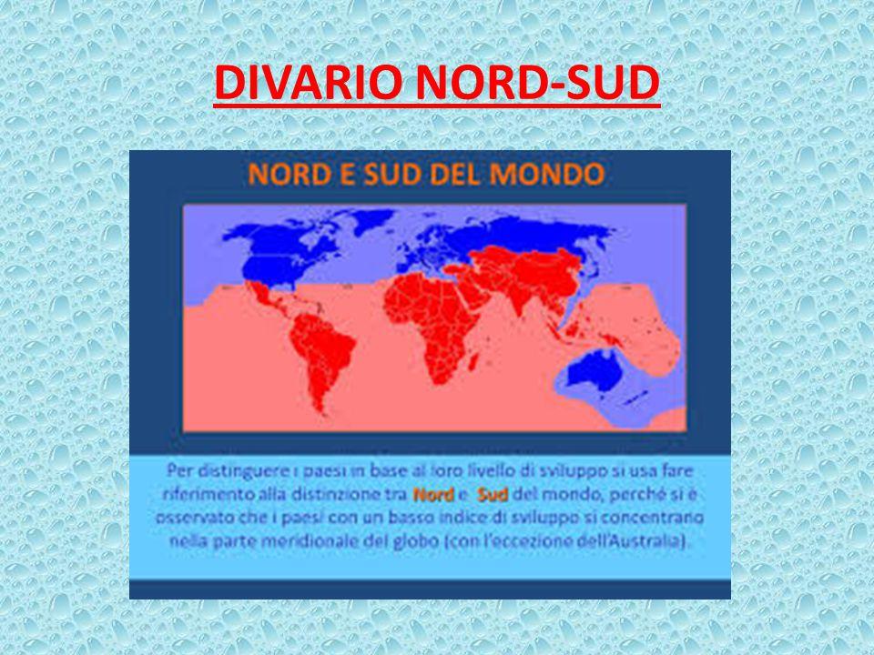 DIVARIO NORD-SUD