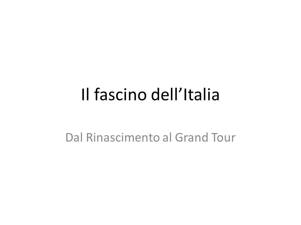 Il fascino dell'Italia