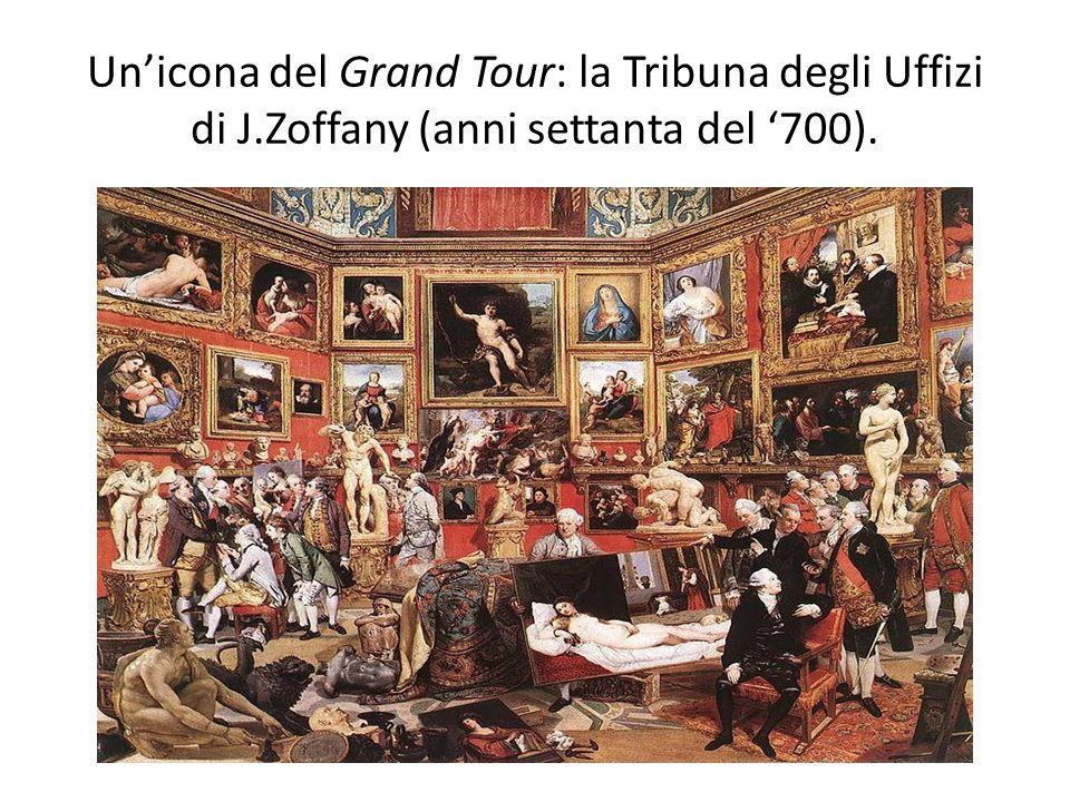 Un'icona del Grand Tour: la Tribuna degli Uffizi di J