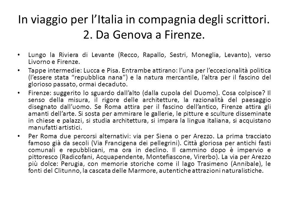 In viaggio per l'Italia in compagnia degli scrittori. 2