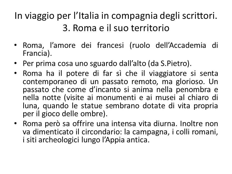 In viaggio per l'Italia in compagnia degli scrittori. 3