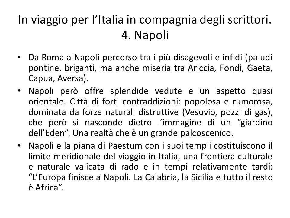 In viaggio per l'Italia in compagnia degli scrittori. 4. Napoli