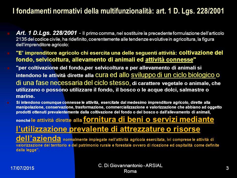 C. Di Giovannantonio - ARSIAL Roma