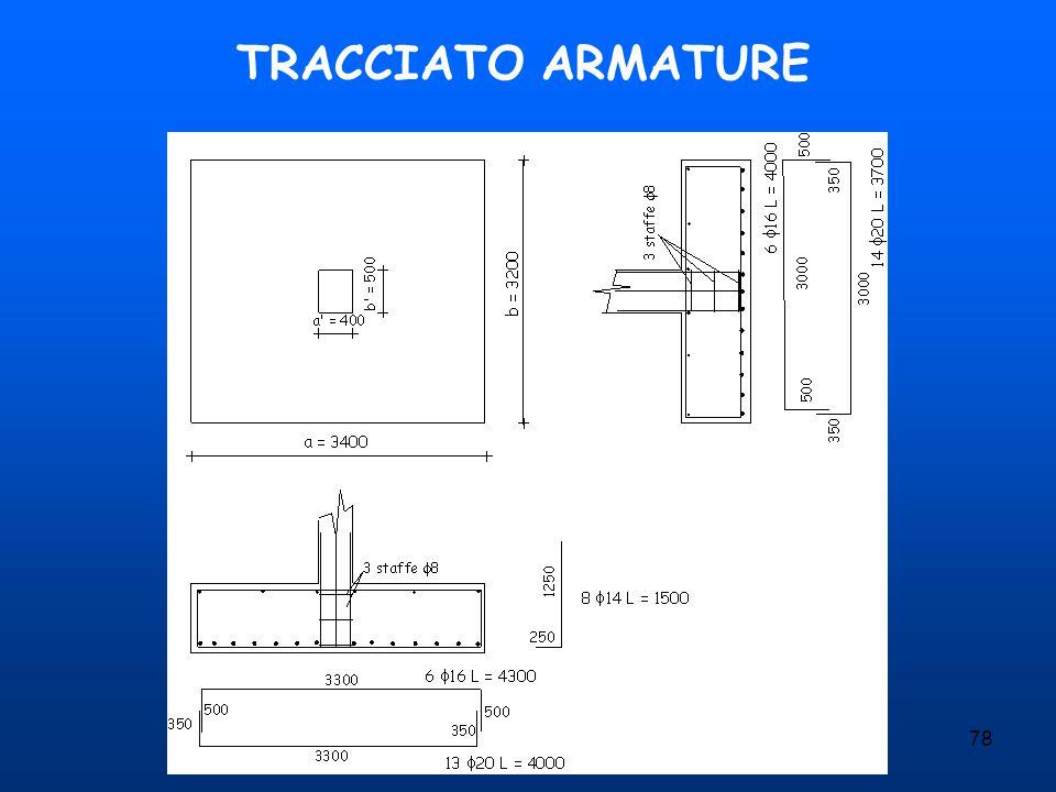 TRACCIATO ARMATURE