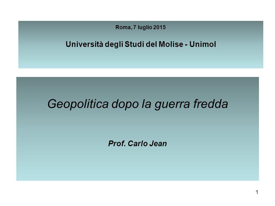 Roma, 7 luglio 2015 Università degli Studi del Molise - Unimol
