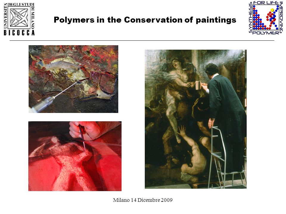 Polymers in the Conservation of paintings