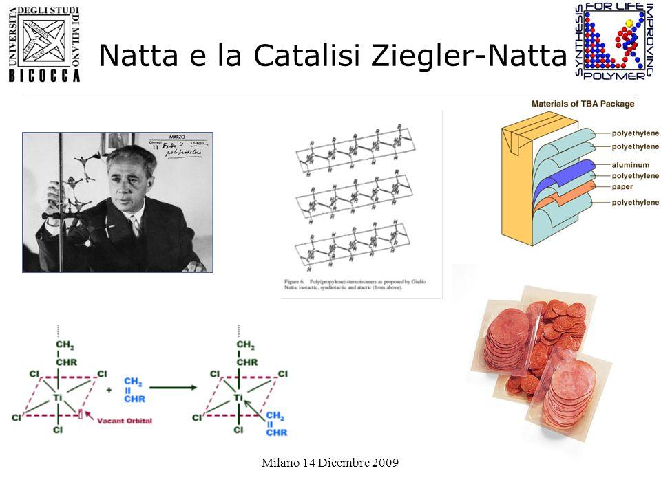 Natta e la Catalisi Ziegler-Natta