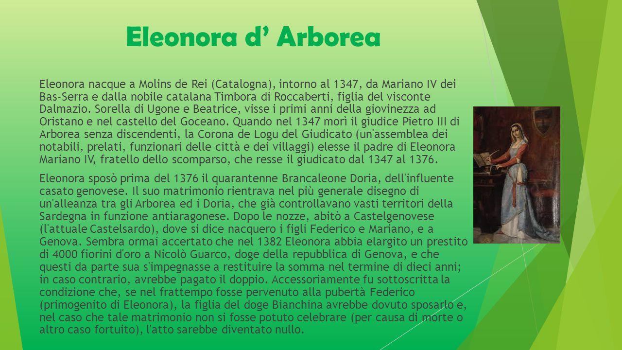 Eleonora d' Arborea