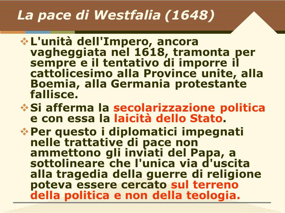 La pace di Westfalia (1648)