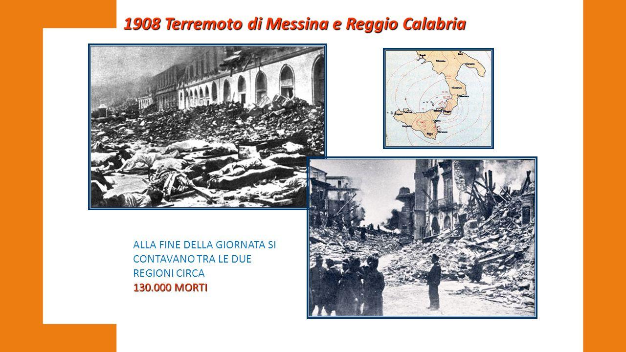 1908 Terremoto di Messina e Reggio Calabria