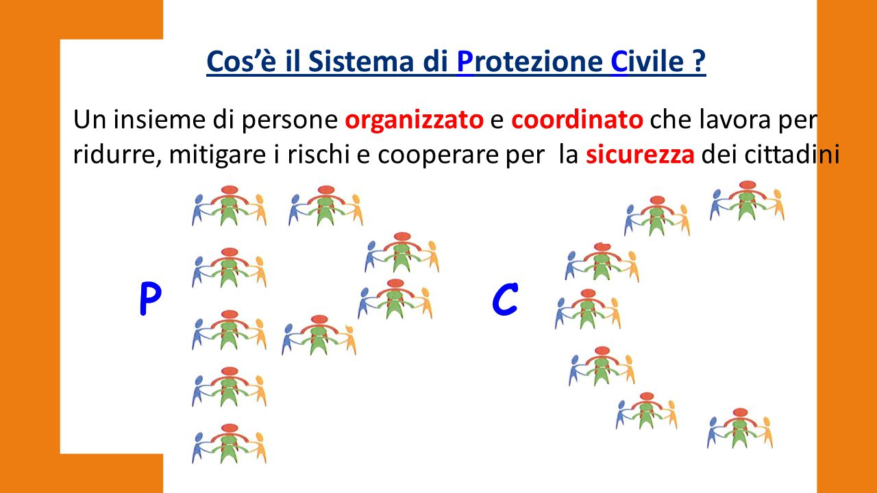Cos'è il Sistema di Protezione Civile