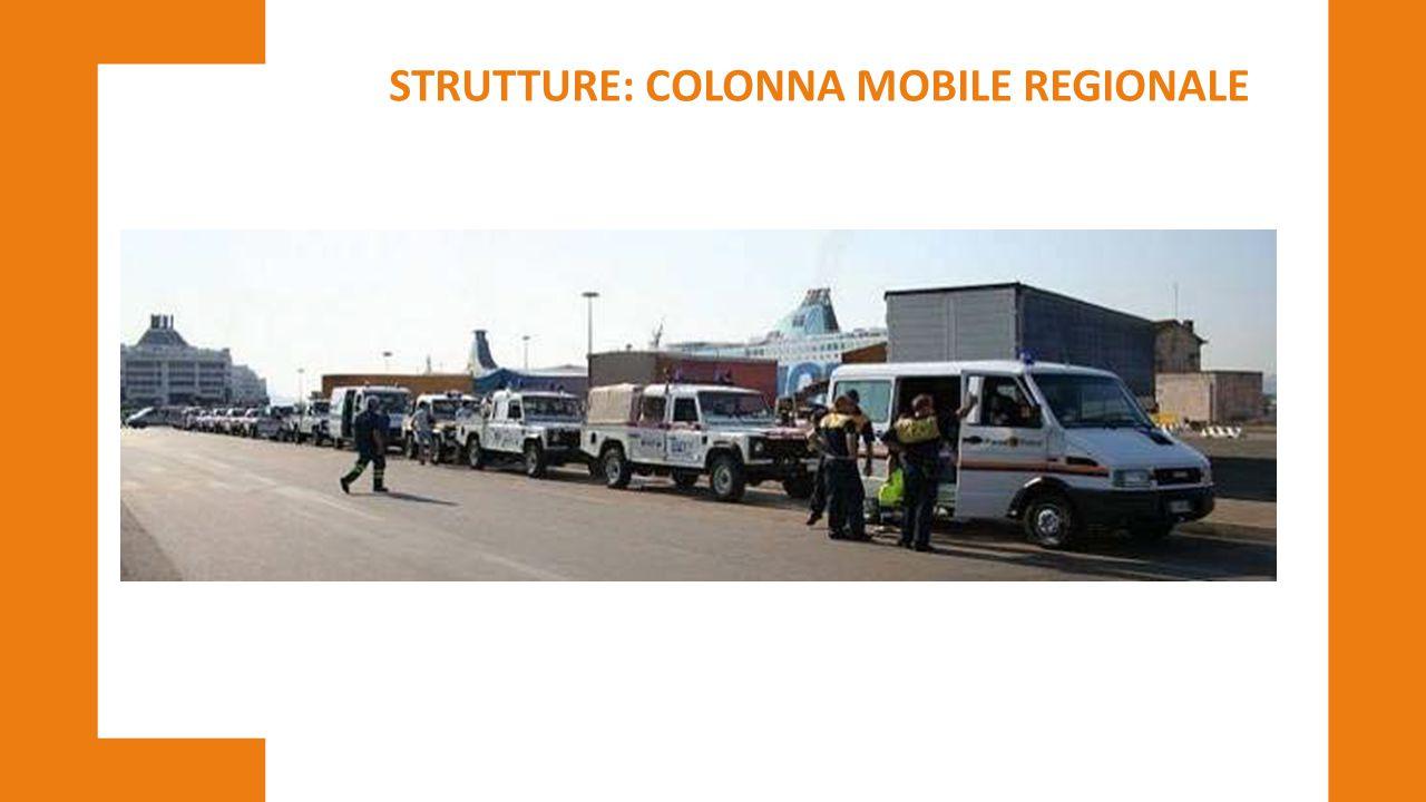 STRUTTURE: COLONNA MOBILE REGIONALE