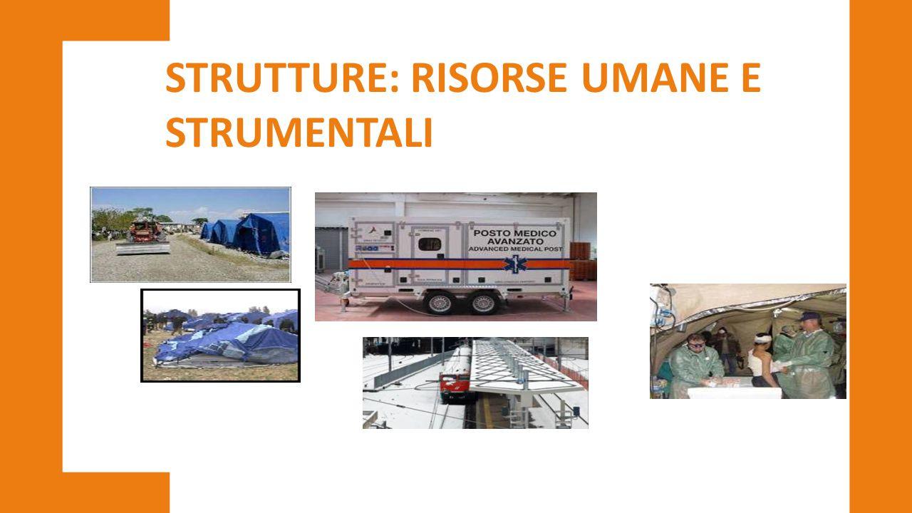 STRUTTURE: RISORSE UMANE E STRUMENTALI