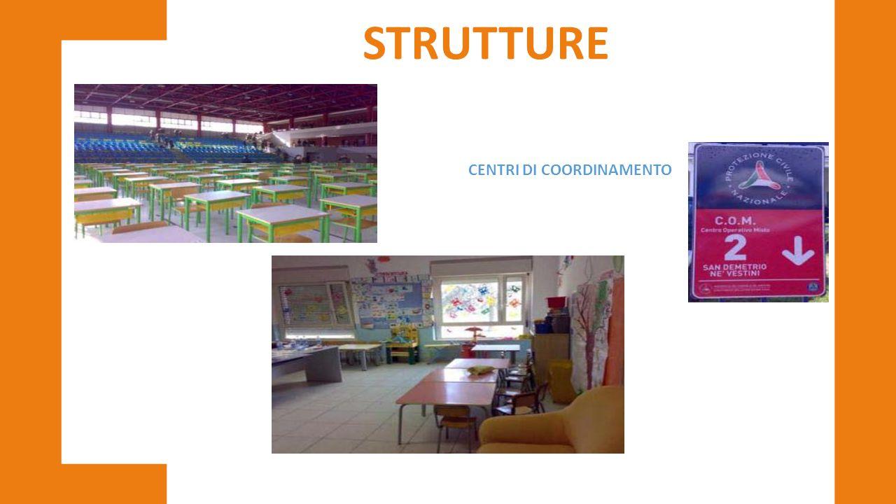 STRUTTURE CENTRI DI COORDINAMENTO