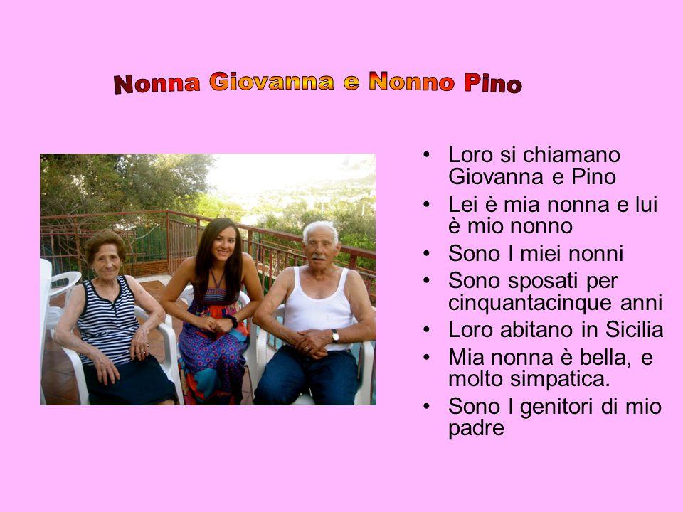 Nonna Giovanna e Nonno Pino