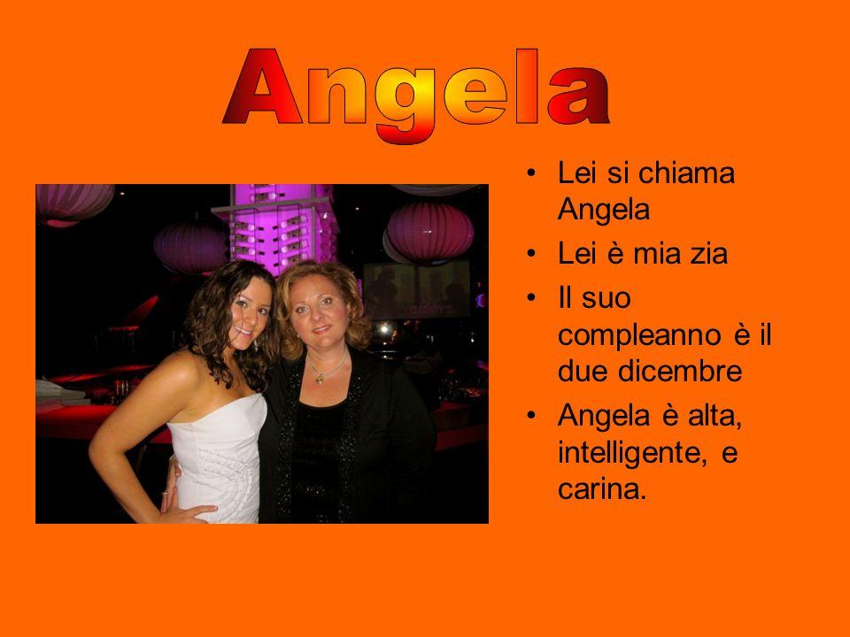 Angela Lei si chiama Angela Lei è mia zia