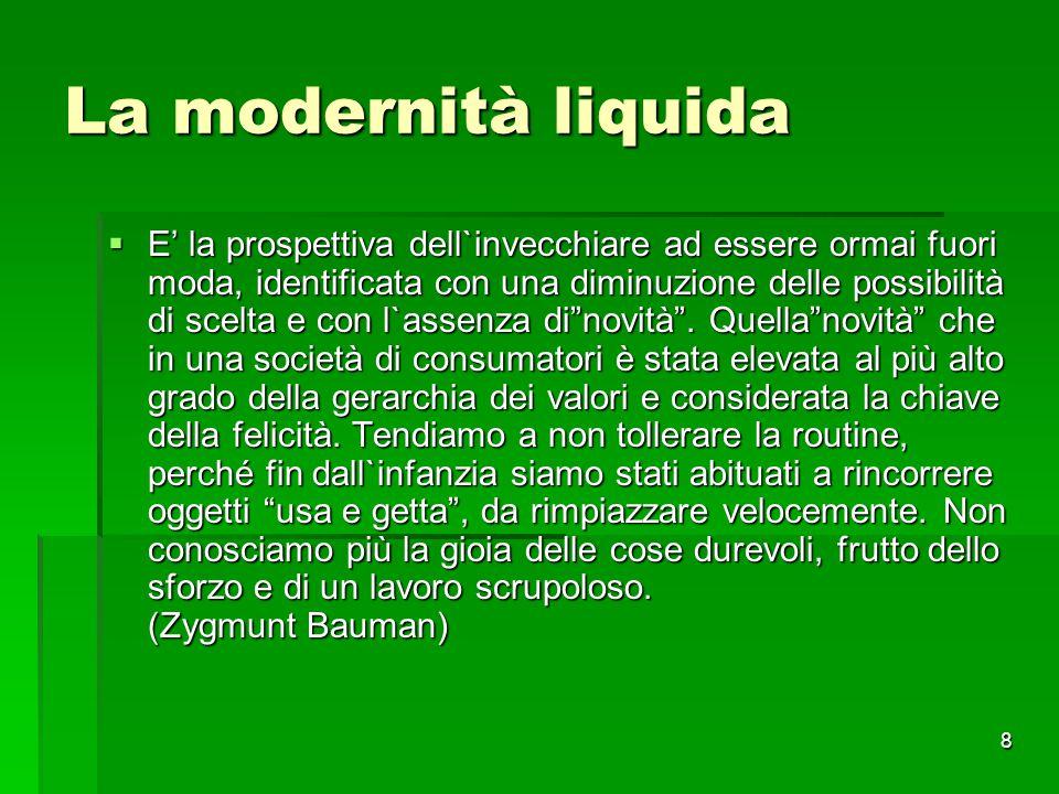 La modernità liquida