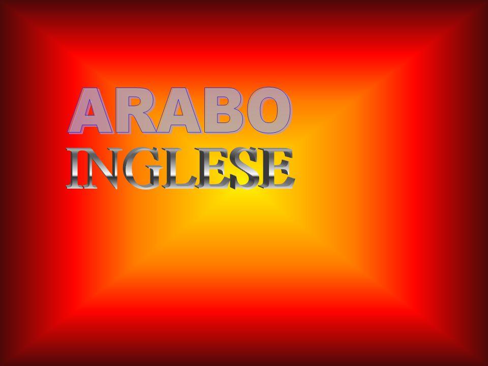 ARABO INGLESE