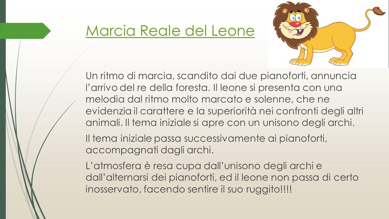 Marcia Reale del Leone