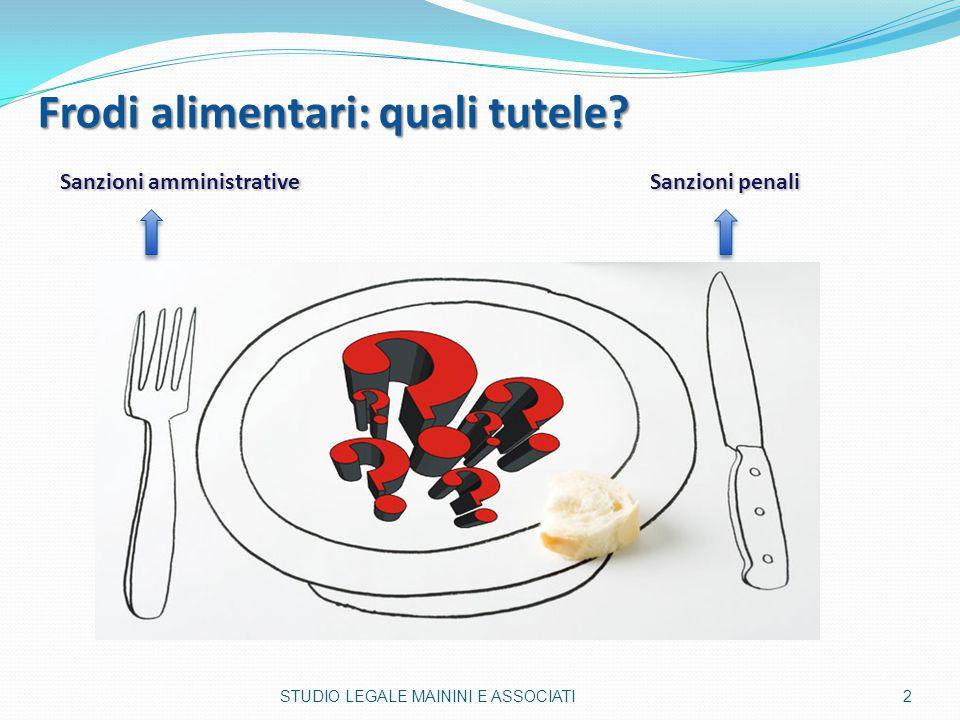 Frodi alimentari: quali tutele