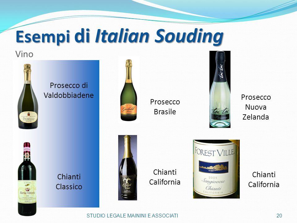 Esempi di Italian Souding Vino