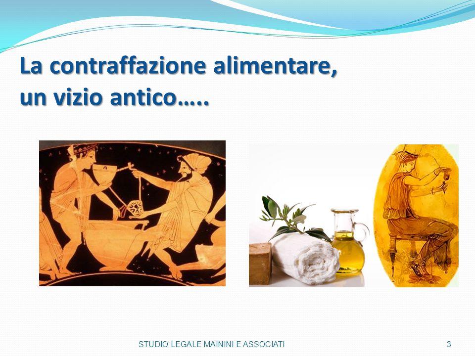 La contraffazione alimentare, un vizio antico…..