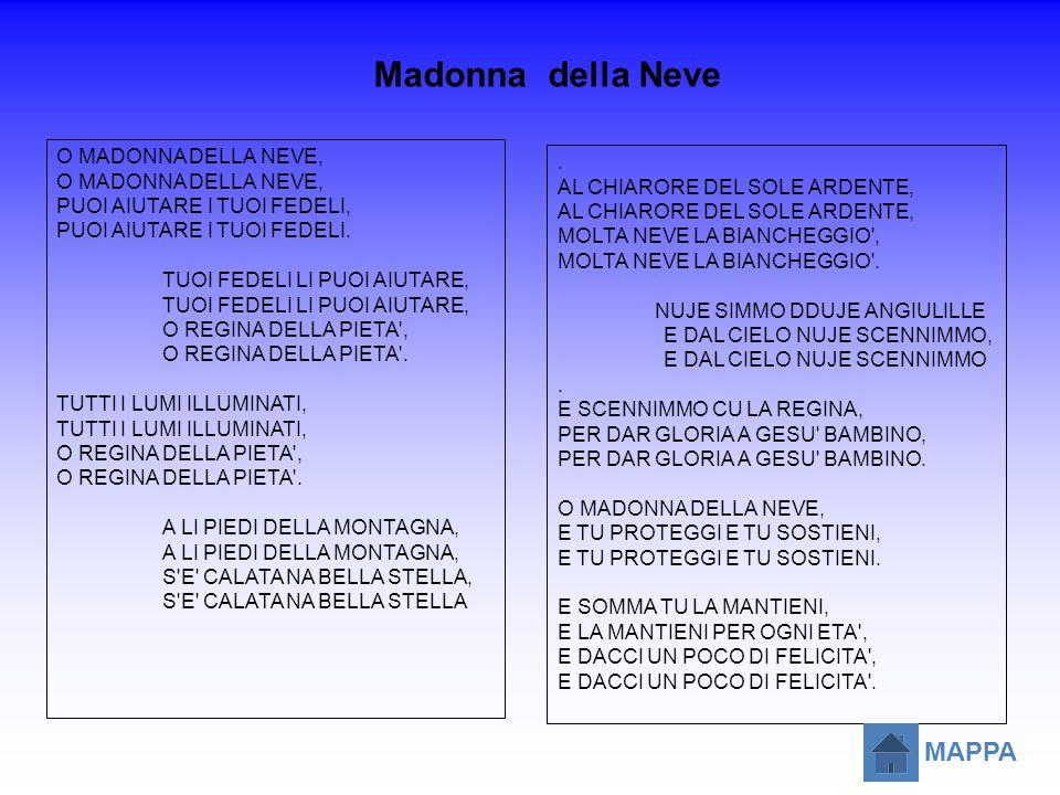 Madonna della Neve MAPPA O MADONNA DELLA NEVE, .