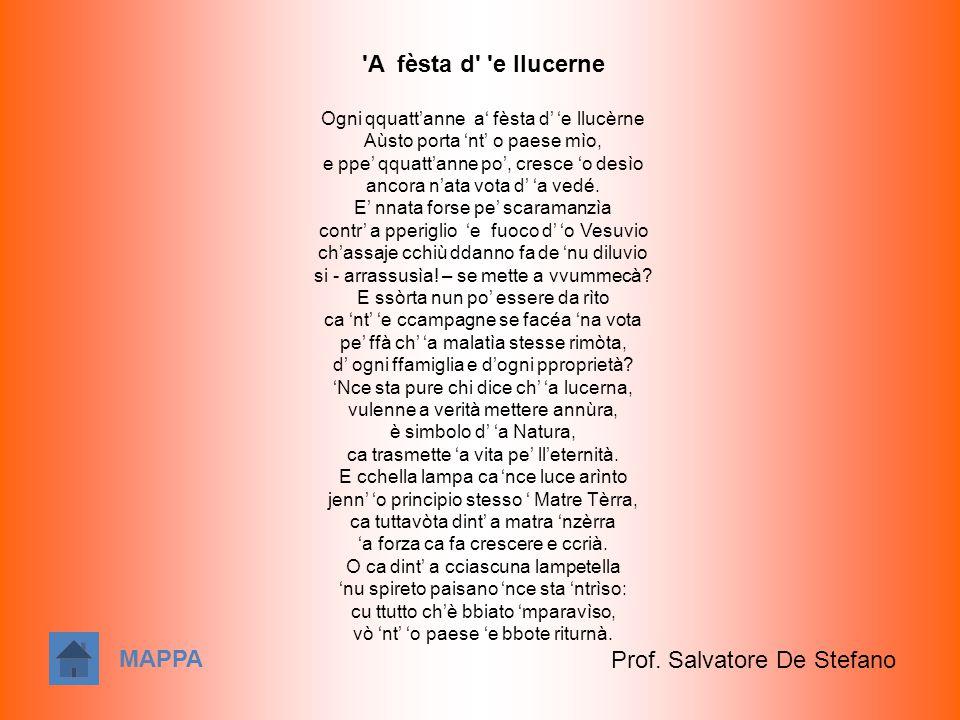 Prof. Salvatore De Stefano