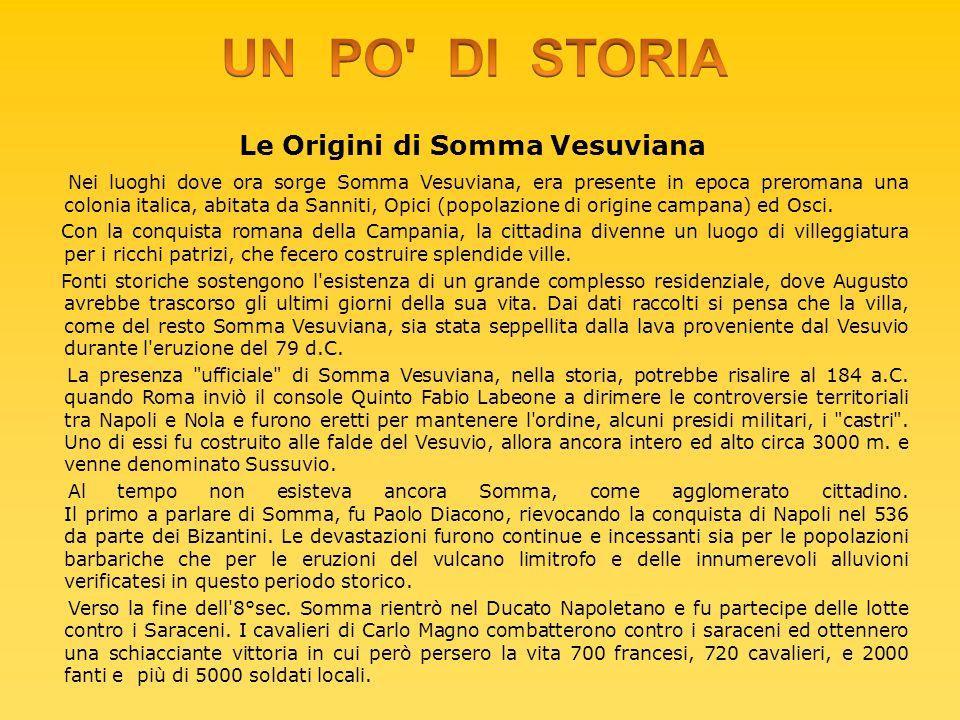 Le Origini di Somma Vesuviana