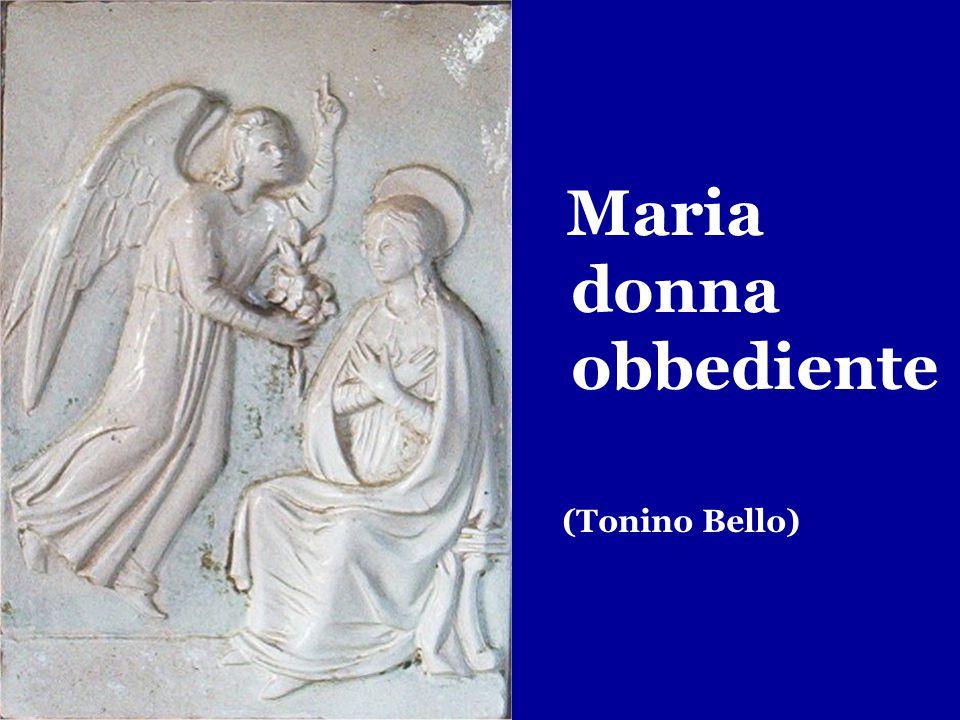 Maria donna obbediente