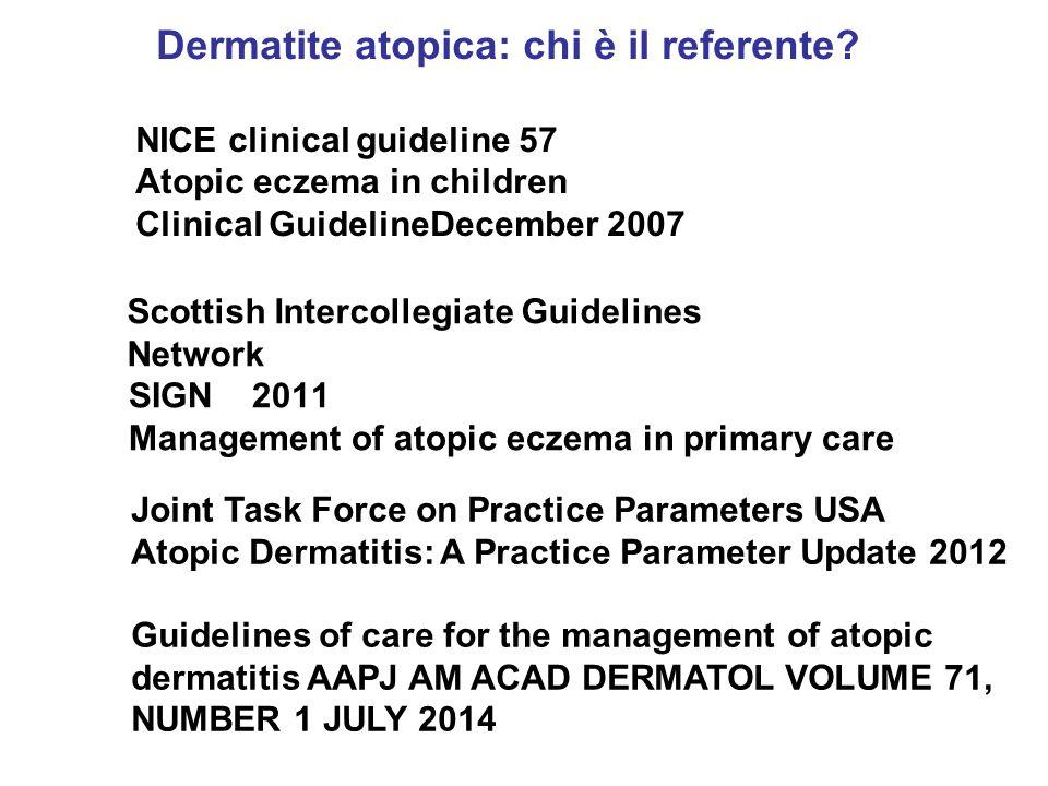 Dermatite atopica: chi è il referente