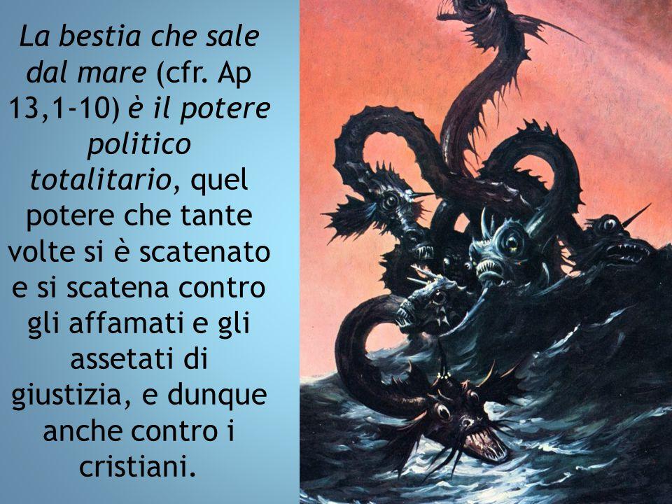 La bestia che sale dal mare (cfr